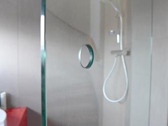 Glazen badkamerdeur